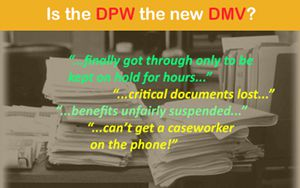 Is the DPW the new DMV?
