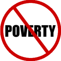 end poverty symbol