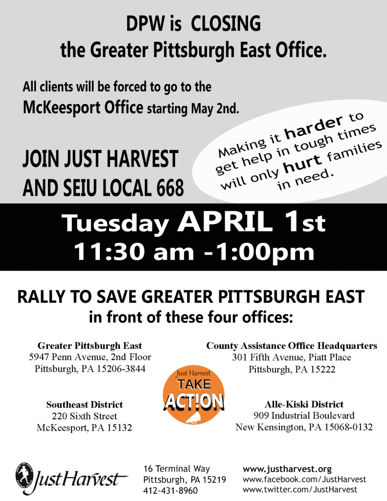 Rally to save DPW GPE