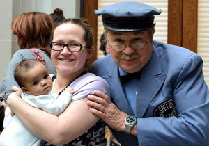 Mr. McFeely and mom