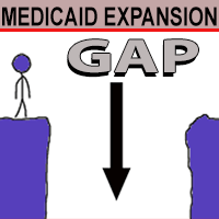 Medicaid expansion gap