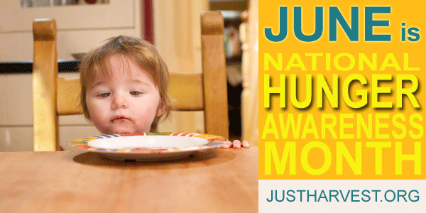 June is National Hunger Awareness Month