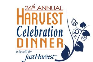 26th Annual Harvest Celebration Dinner - a benefit for Just Harvest