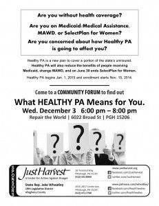 What will the new Healthy PA plan mean for your healthcare? - Just