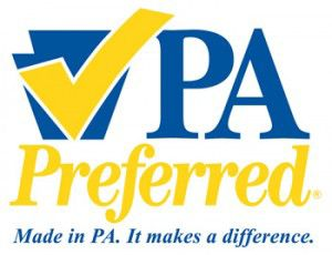 PA Preferred. Made in PA. It makes a difference.