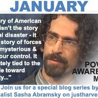 January is Poverty Awareness Month - join us for a special blog series by journalist Sasha Abramsky