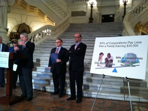 Better Choices Coalition for PA press conference in Harrisburg