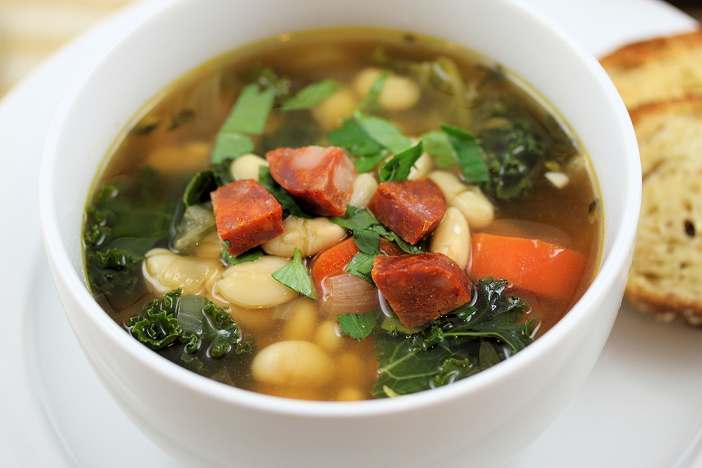White Bean And Kale Soup Via Tasteinspired WordPress