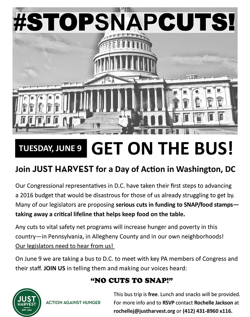 Help Us Get To DC Stop SNAP Cuts