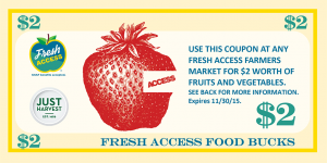 Fresh Access Food Bucks