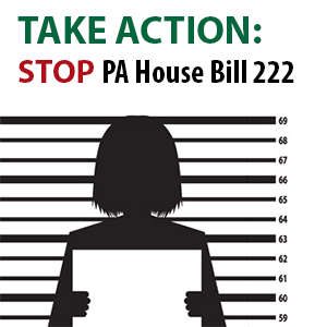 Take Action: Stop PA House Bill 222