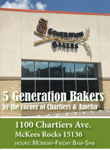 5 Generation Bakers provides healthy food access at 1100 Chartiers Ave in McKees Rocks is now a Fresh Corners corner store