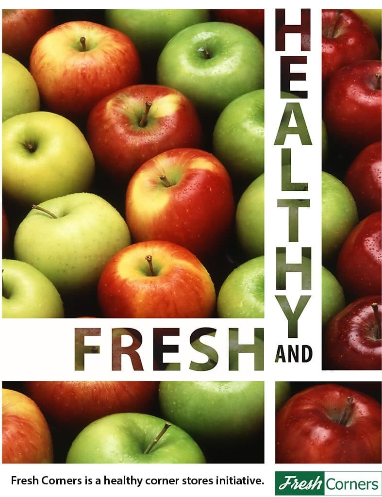 Fresh and Healthy Food: Fresh Corners is a healthy corner store initiative by Just Harvest