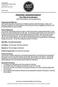 just-harvest-tax-site-coordinator-job-announcement-mini
