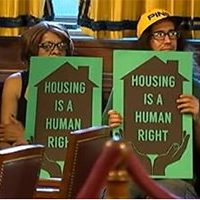Screenshot of WPXI Sep. 21, 2016 news clip on Pittsburgh Housing Opportunity Fund city council hearing