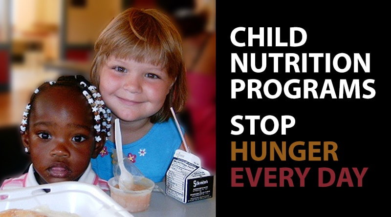 Child Nutrition Programs Stop Hunger Every Day