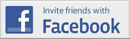Invite friends with Facebook