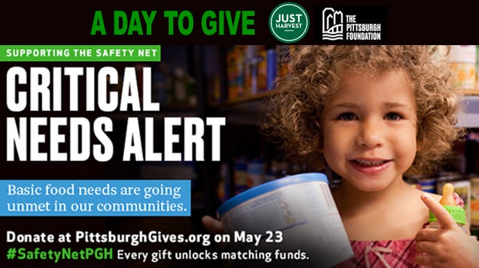 A Day to Give: Pittsburgh Foundation Critical Needs Alert to support the safety net