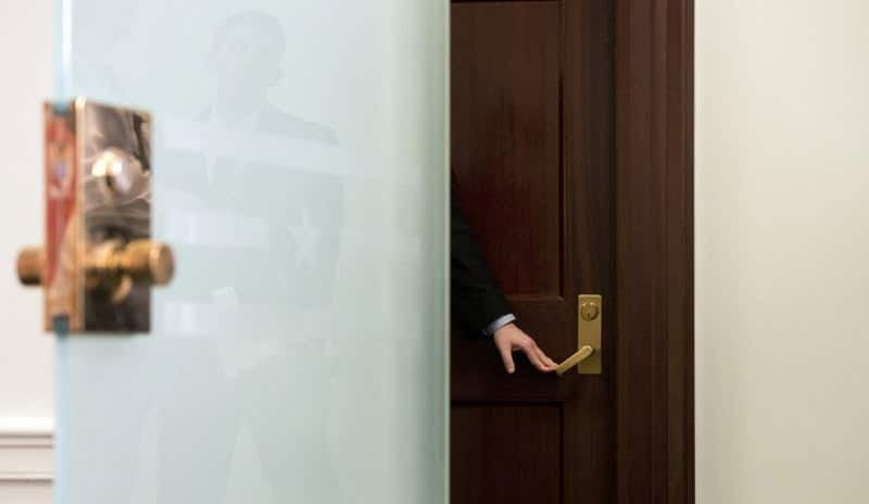 Legislative office door | via Tom Williams/CQ Roll Call
