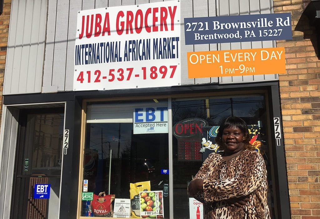 Juba Grocery International African Market is a Fresh Corners corner store, providing healthy food access at 2721 Brownsville Rd