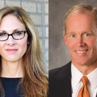 PA 28th House District candidates Emily Skopov and Mike Turzai