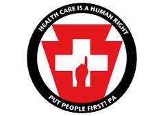 Health Care is a Human Right -- Put People First PA