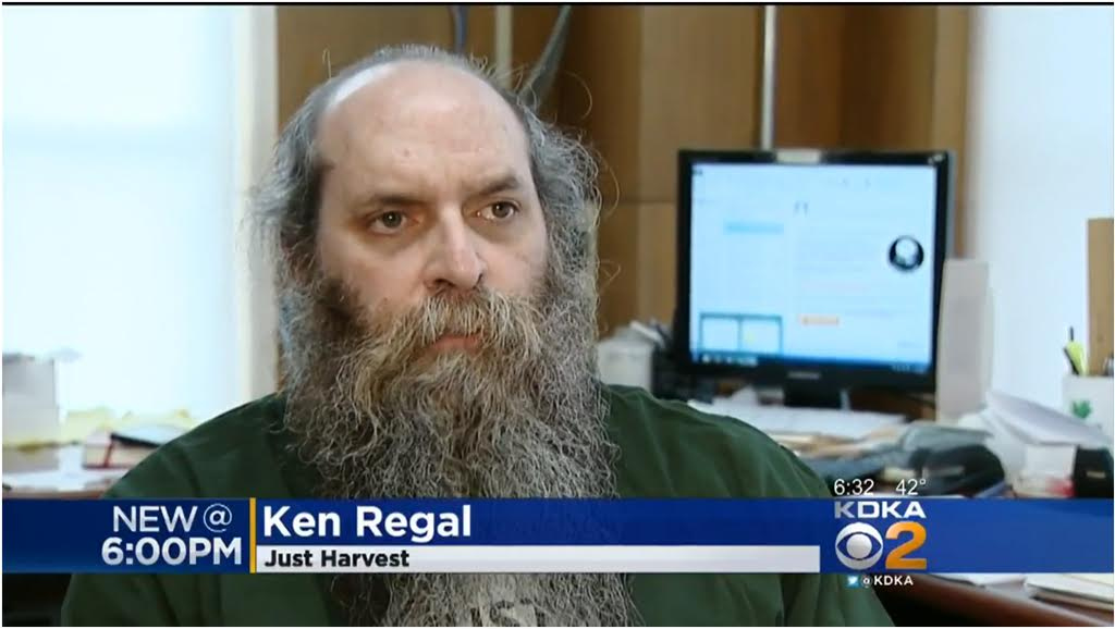 Ken Regal on KDKA CBS 2 TV Pittsburgh discussing Pres. Trump's new food stamps proposal