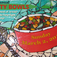 glass mosaic - 19th Annual Empty Bowls