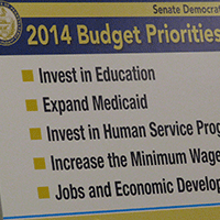 Senate Democratic Caucus 2014 Budget Priorities