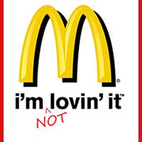 McDonald's i'm not lovin' it (