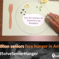 senior hunger plate
