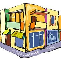 health corner store illustration
