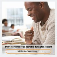 Don't leave money on the table during tax season! #EITCAwarenessDay