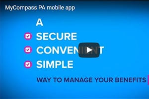 How to create your MyCOMPASS PA mobile app account - Just