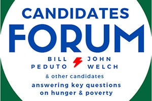Candidates forum: Bill Peduto, John Welch, and other candidates answering key questions on hunger and poverty