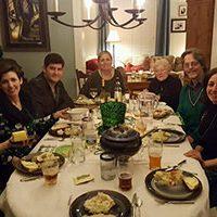 Irish Dinner attendees