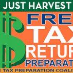 Just Harvest Free Tax Return Preparation - Free Tax Preparation Coalition