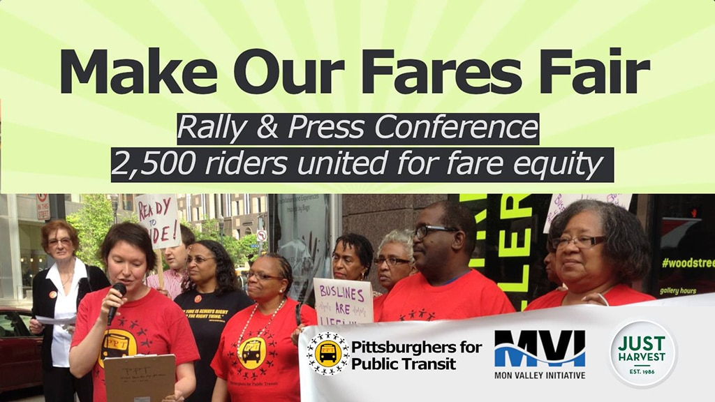 Make Our Fares Fair Rally and Press Conference