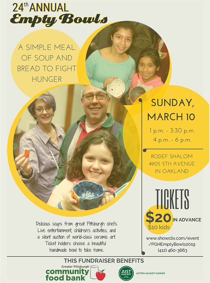 2019 Empty Bowls flyer