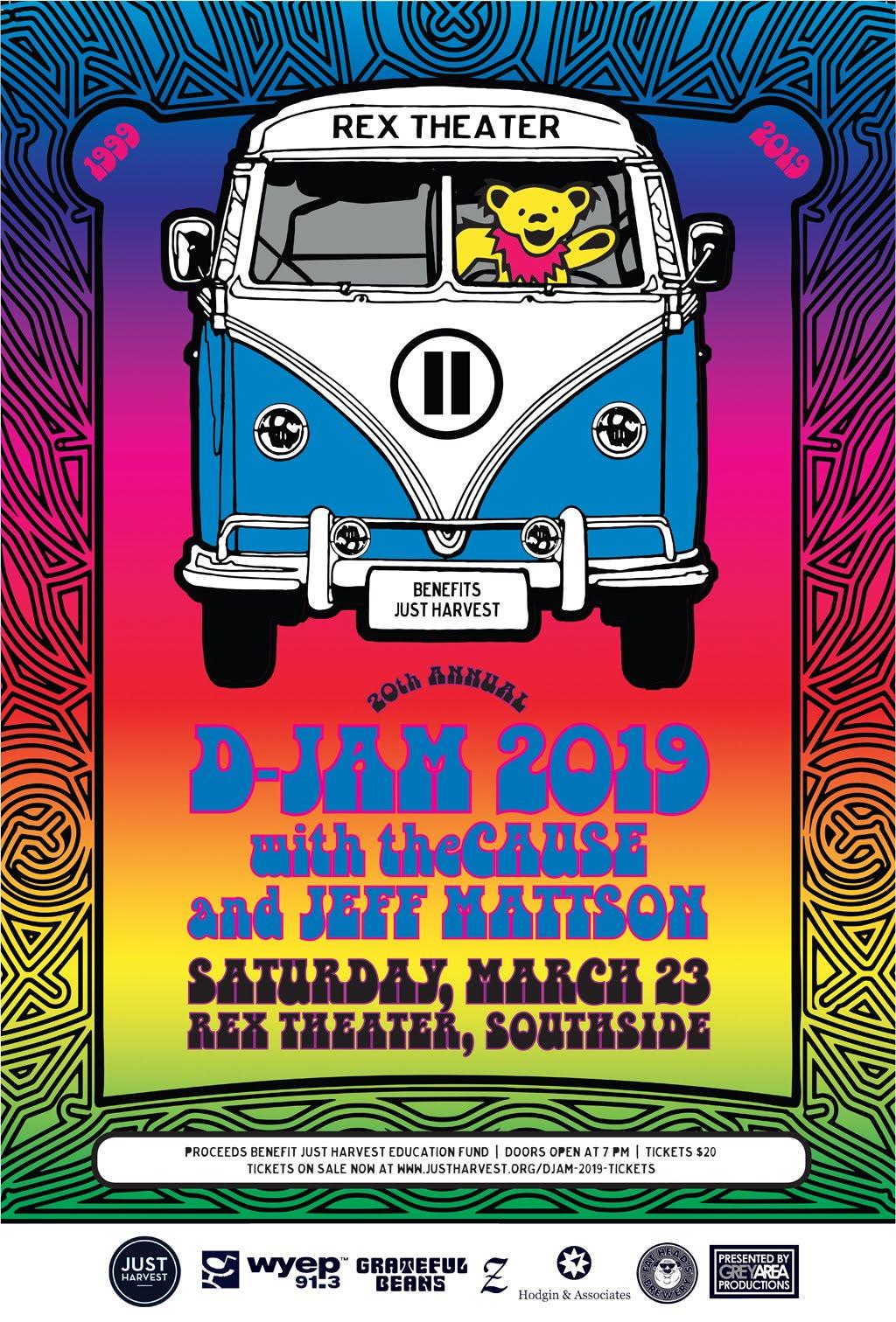 D-Jam 2019 poster
