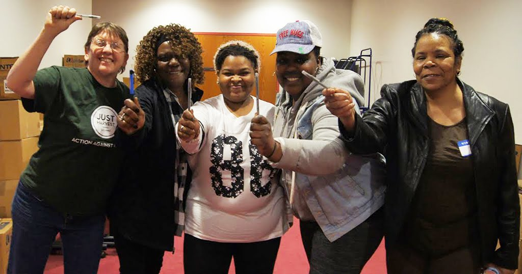 March 20, 2019 Power of the Pen participant Antoinette Moore and friends