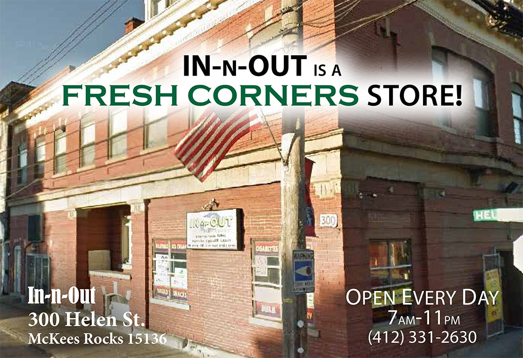 In & Out Market is a Fresh Corners store at 300 Helen St.