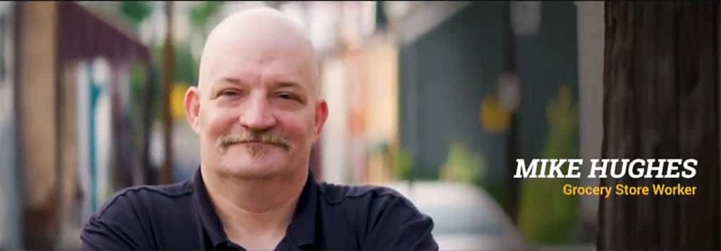 Just Harvest member Mike Hughes