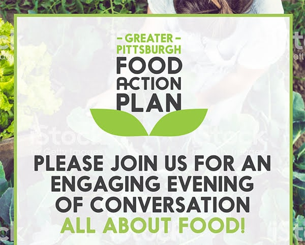 Please join us for an engaging evening of conversation all about food!