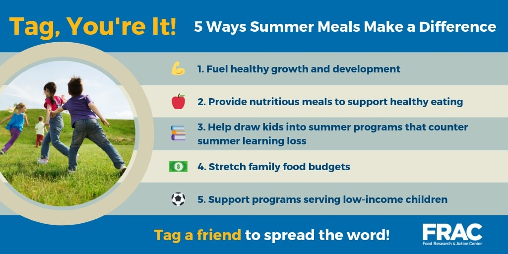 5 ways summer meals make a difference
