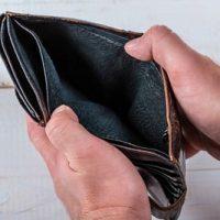 Man hand open an empty wallet via flickr Marco Verch
