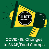 COVID-19: Changes to SNAP/Food Stamps