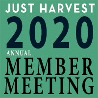 Just Harvest 2020 Annual Member Meeting